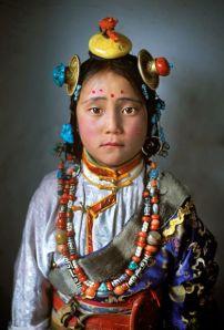 "Photo by Alison Wright  ""Tibet Girl, near Manigango, Kham, Tibet, 2005"""