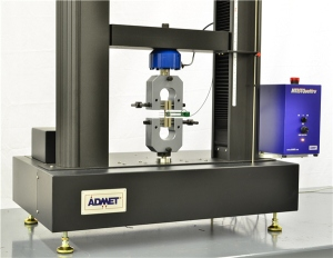 ADMET eXpert 2611 Testing Machine configured for ASTM D638 Testing