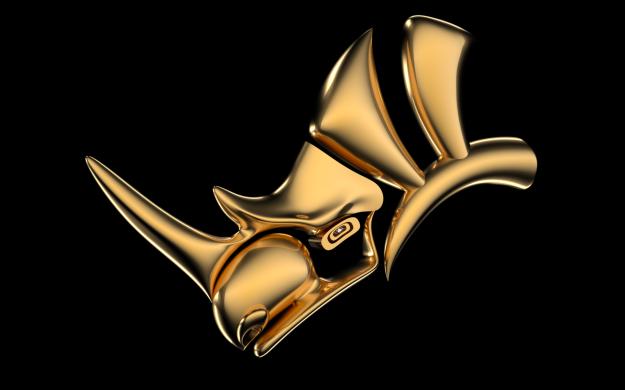 Rhinoceros 3D Logo