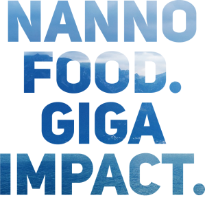 nannofood gigaimpact water no bottom logo