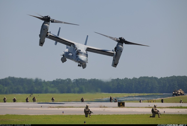 """""""Picture of the Bell-Boeing MV-22B Osprey Aircraft."""" Airliners. N.p., n.d. Web. 7 Apr. 2015. ."""
