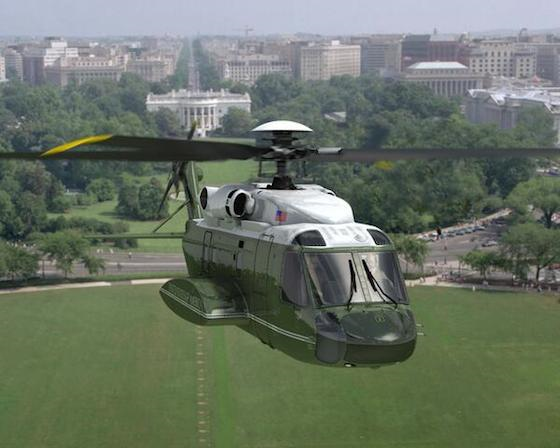 Marine One Prototype Design for 2019 release by Sikorsky