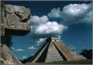 Mayan Architecture, greatly influenced by religion