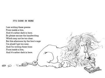 It's Dark in Here by Shel Silverstein