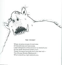 The Worst by Shel Silverstein