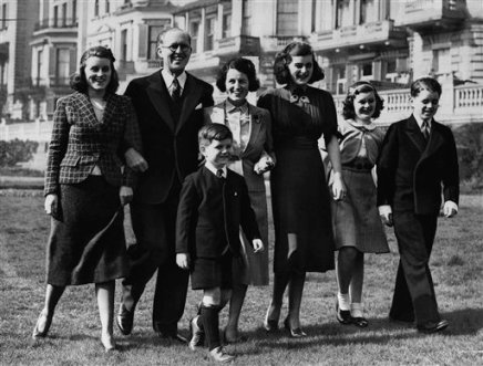 Rose And Joseph Kennedy Family 1938